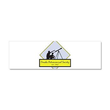 OAS logo Car Magnet 10 x 3