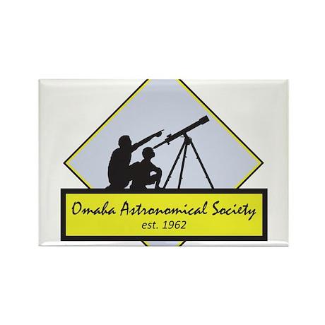 OAS logo Rectangle Magnet (100 pack)