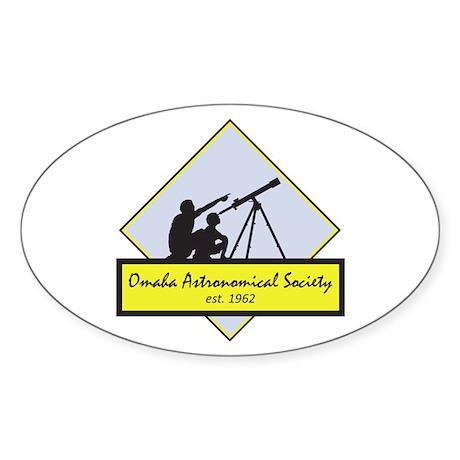 OAS logo Sticker (Oval)
