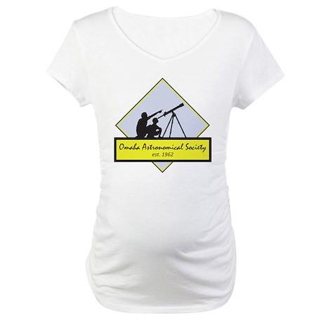 OAS logo Maternity T-Shirt
