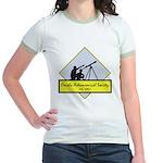 OAS logo Jr. Ringer T-Shirt