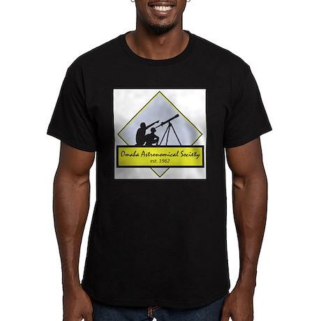 OAS logo Men's Fitted T-Shirt (dark)