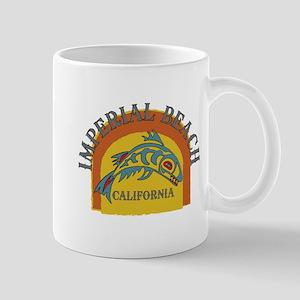 Imperial Beach Sunset Fish Mug