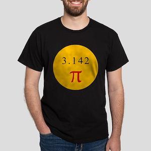 Pi - YELLOW Dark T-Shirt