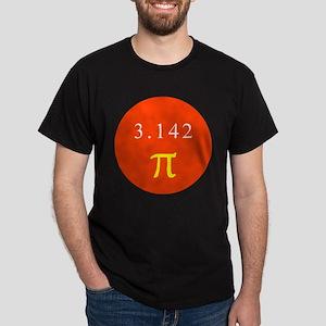 Pi - RED Dark T-Shirt