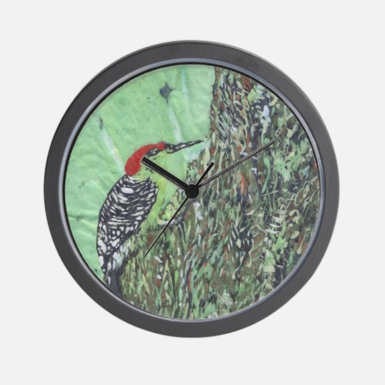 Red-bellied Woodpecker Wall Clock