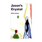 Jason's Crystal Rectangle Sticker