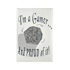 Proud Gamer Rectangle Magnet (10 pack)