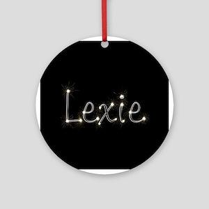 Lexie Spark Ornament (Round)
