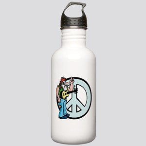 Funny Peace Stainless Water Bottle 1.0L