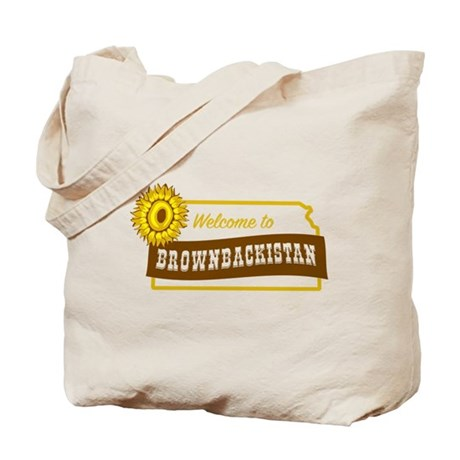 Welcome to Brownbackistan Tote Bag