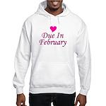 Due In February Hooded Sweatshirt