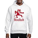 Devilish Hooded Sweatshirt