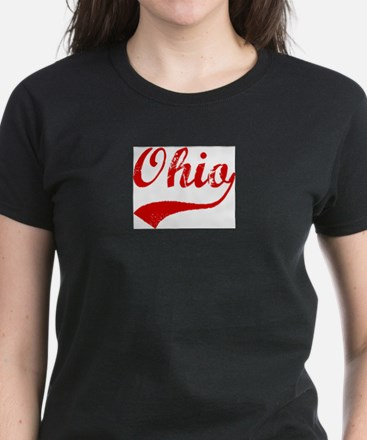 Red Vintage: Ohio Ash Grey T-Shirt