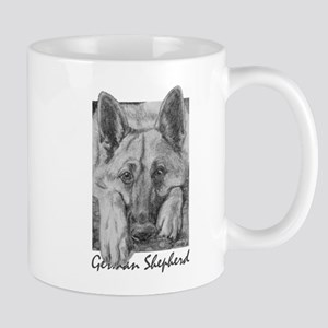 PODO Portraits -- German Shepherd Mug