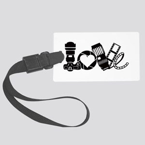 Camera Love Large Luggage Tag