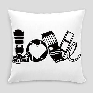 Camera Love Everyday Pillow