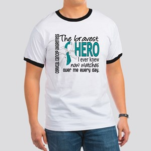 Bravest Hero I Knew Cervical Cancer Ringer T