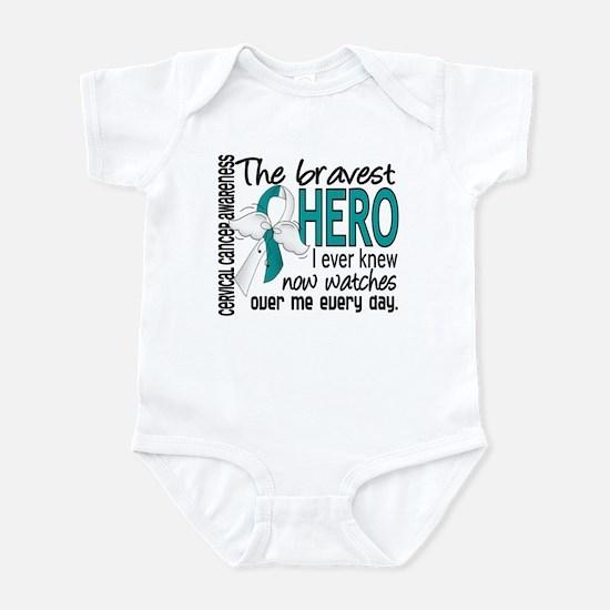 Bravest Hero I Knew Cervical Cancer Infant Bodysui