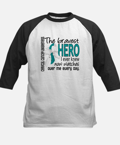 Bravest Hero I Knew Cervical Cancer Tee