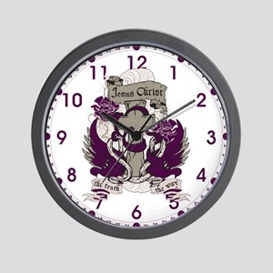 Jesus is The Truth and The Way Wall Clock