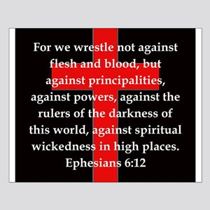 Ephesians 6-12 Small Poster