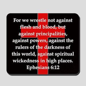Ephesians 6-12 Mousepad