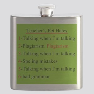 Pet Hates 2 GREEN Flask