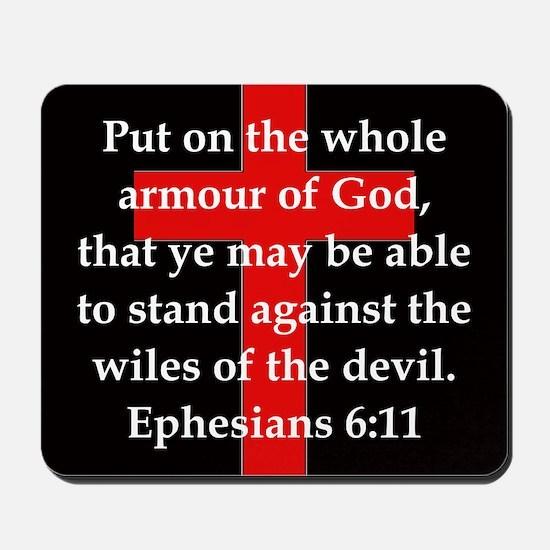 Ephesians 6-11 Mousepad