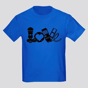 Camera Love Kids Dark T-Shirt