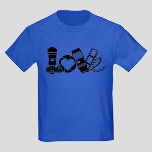 Camera Love Kids Dark T-Shirt