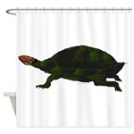 Giant Amazon River Turtle Shower Curtain
