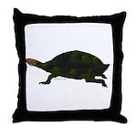 Giant Amazon River Turtle Throw Pillow