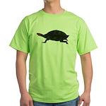 Giant Amazon River Turtle Green T-Shirt