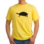 Giant Amazon River Turtle Yellow T-Shirt