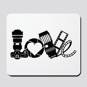 Camera Love Mousepad