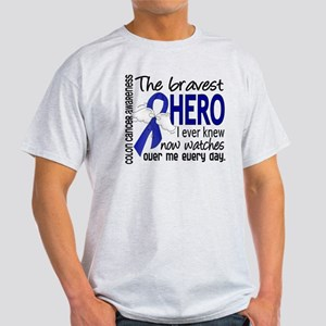 Bravest Hero I Knew Colon Cancer Light T-Shirt