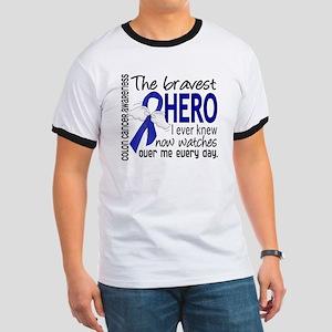 Bravest Hero I Knew Colon Cancer Ringer T