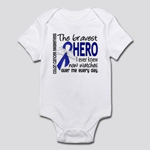 Bravest Hero I Knew Colon Cancer Infant Bodysuit