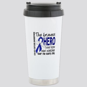 Bravest Hero I Knew Colon Cancer Stainless Steel T