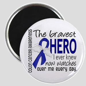 Bravest Hero I Knew Colon Cancer Magnet