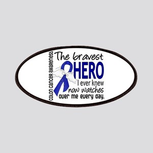 Bravest Hero I Knew Colon Cancer Patches