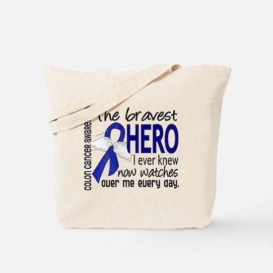 Bravest Hero I Knew Colon Cancer Tote Bag