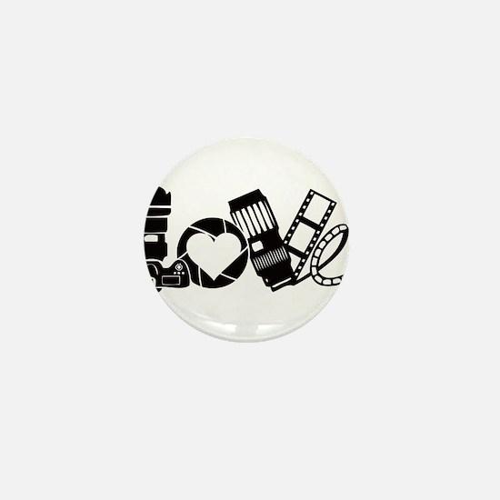 Camera Love Mini Button