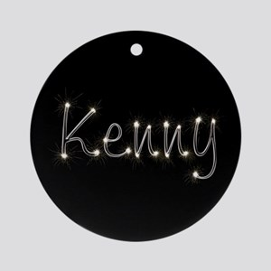 Kenny Spark Ornament (Round)