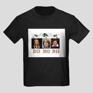 DEMOCRATS XMAS Kids Dark T-Shirt