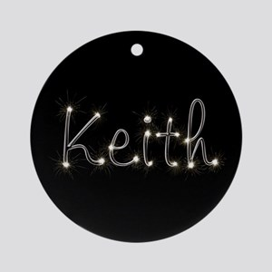 Keith Spark Ornament (Round)