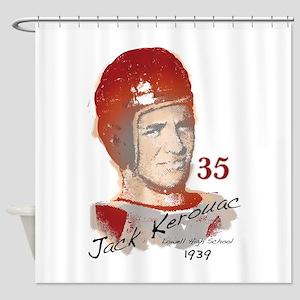 Jack Kerouac Shower Curtain