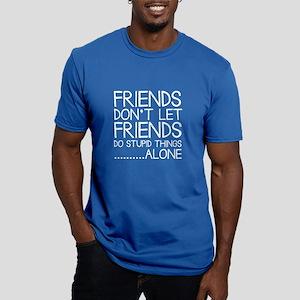 Good Friends Men's Fitted T-Shirt (dark)