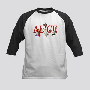 Alice and Her Friends in Wond Kids Baseball Jersey